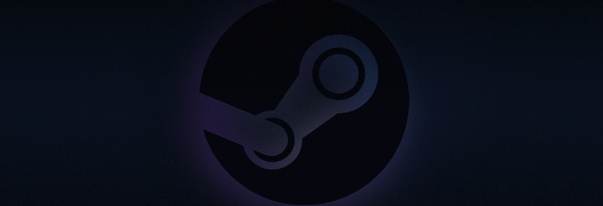 Minimalistic-Steam-Logo-Wallpaper