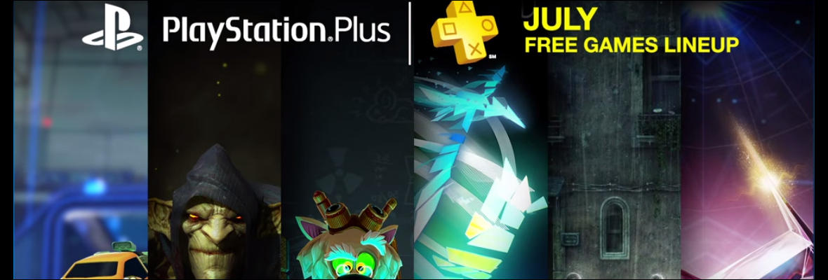 PS PLus julio