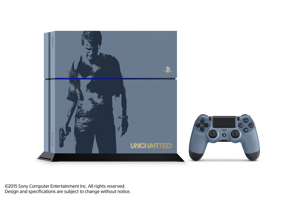 Uncharted 4 Consola
