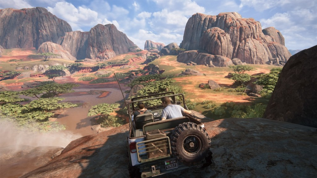 Por primera vez en Uncharted podremos conducir vehiculos.
