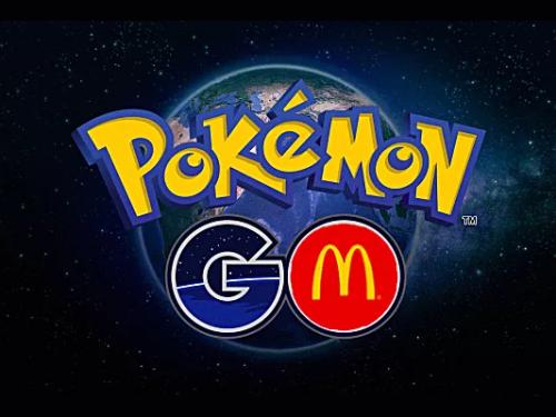 Pokémon GO mcdonalds