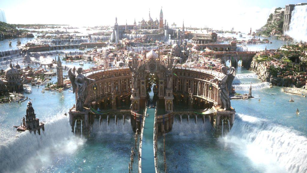 Altissia, una ciudad extravagante