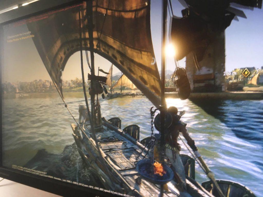 Esta seria la supuesta imagen filtrada para Assasin's Creed: Origins