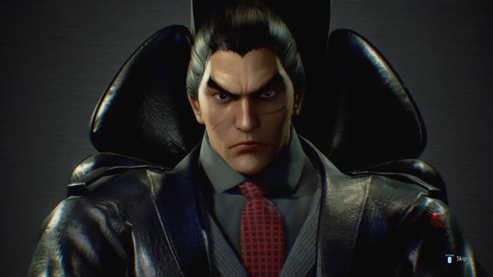 Kazuya dirige a la Corporación G entre las sombras y es el personaje clave de la historia.