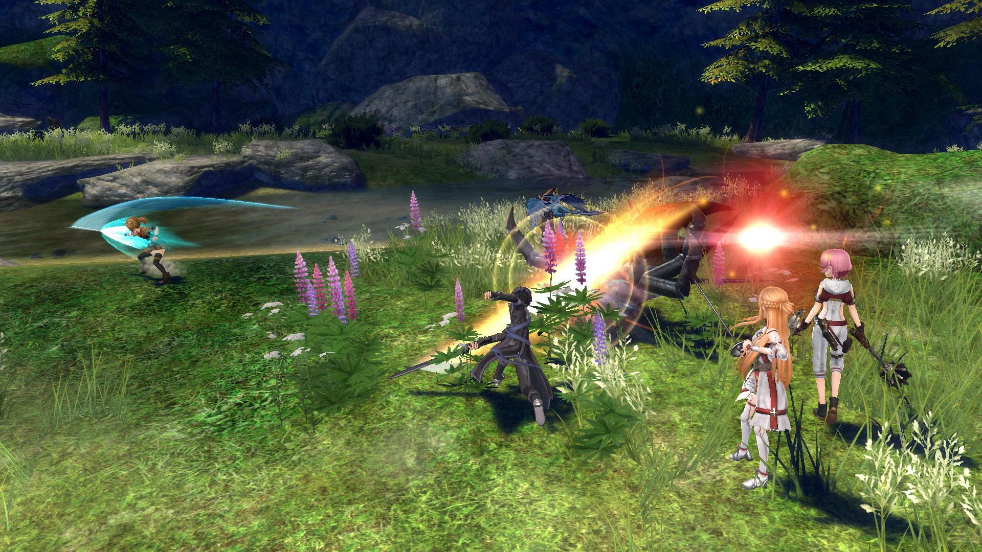 Resultado de imagen para SWORD ART ONLINE HOLLOW FRAGMENT gameplay